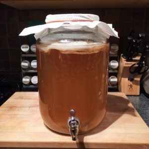2 Gallon Kombucha Mason Jar with Spigot