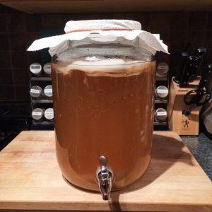 2 Gallon Kombucha Mason Jar with Spigot