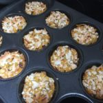 choco chip banana muffins